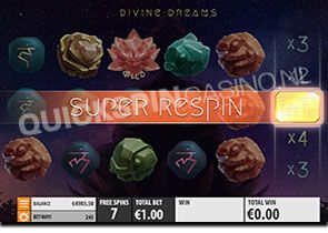 Divine Dreams Super Respin