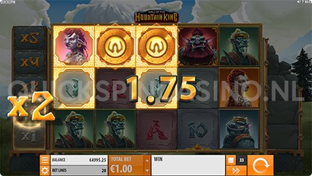 Mountain King Multiplier